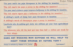 Political leaflet for Waddy reverse